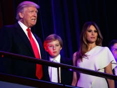 Attack On Barron Trump S Choice Of Clothing By Website Sparks