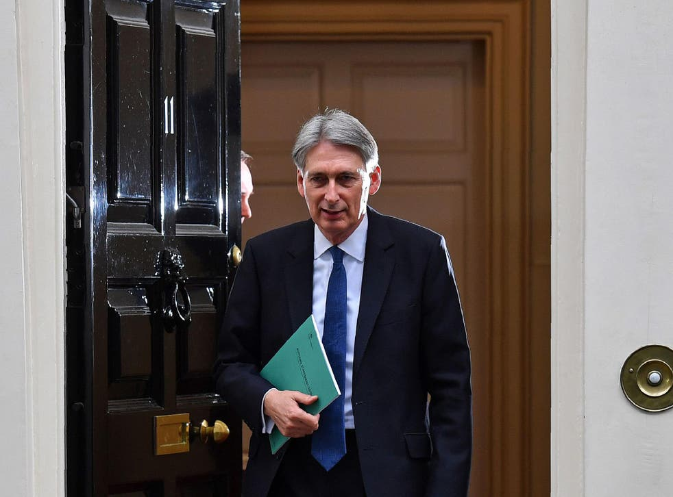 The Chancellor is aiming for a budget surplus in the next Parliament