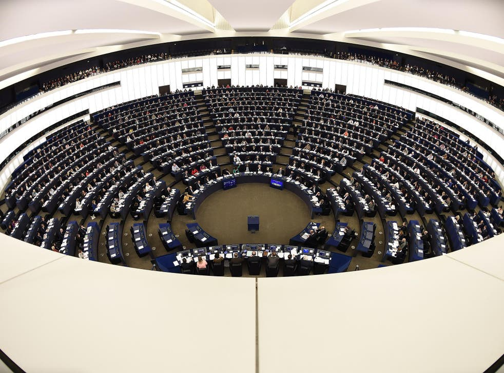 The European Parliament in Strasbourg voted on the resolution, aimed at tackling propaganda from Russia