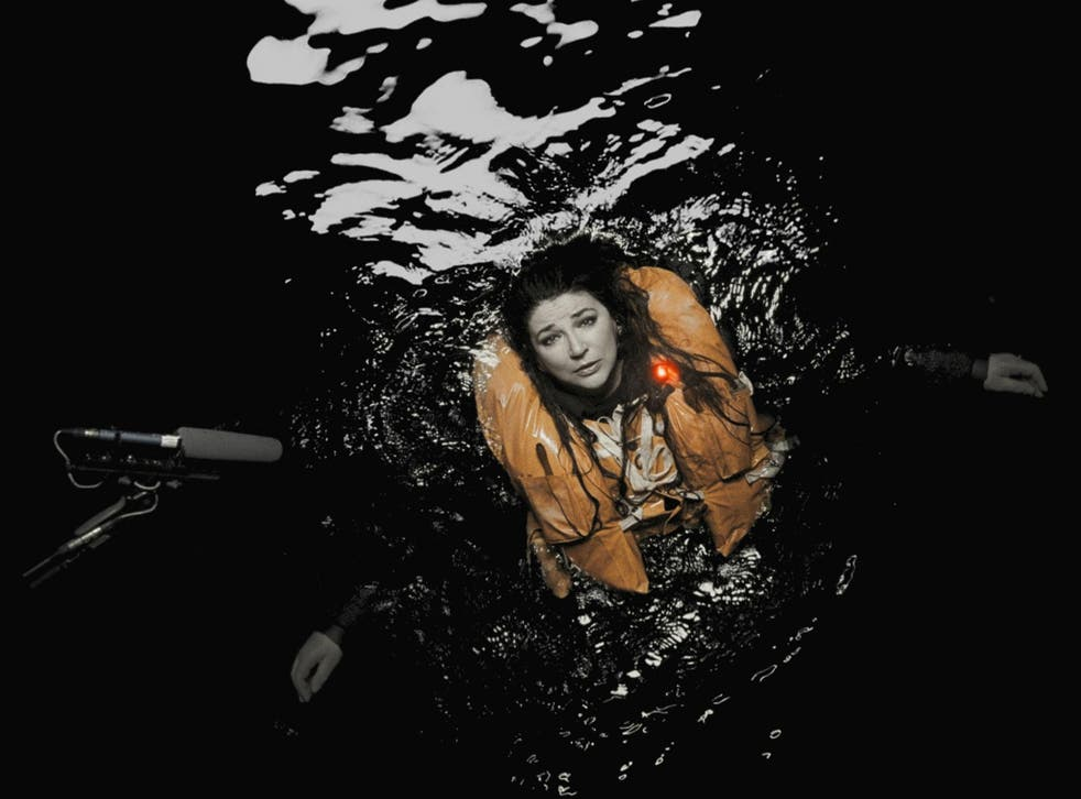 Kate Bush was suspended for six hours in a tank of water at Pinewood Studios filming visuals for 'And Dream of Sheep' on 'The Ninth Wave'