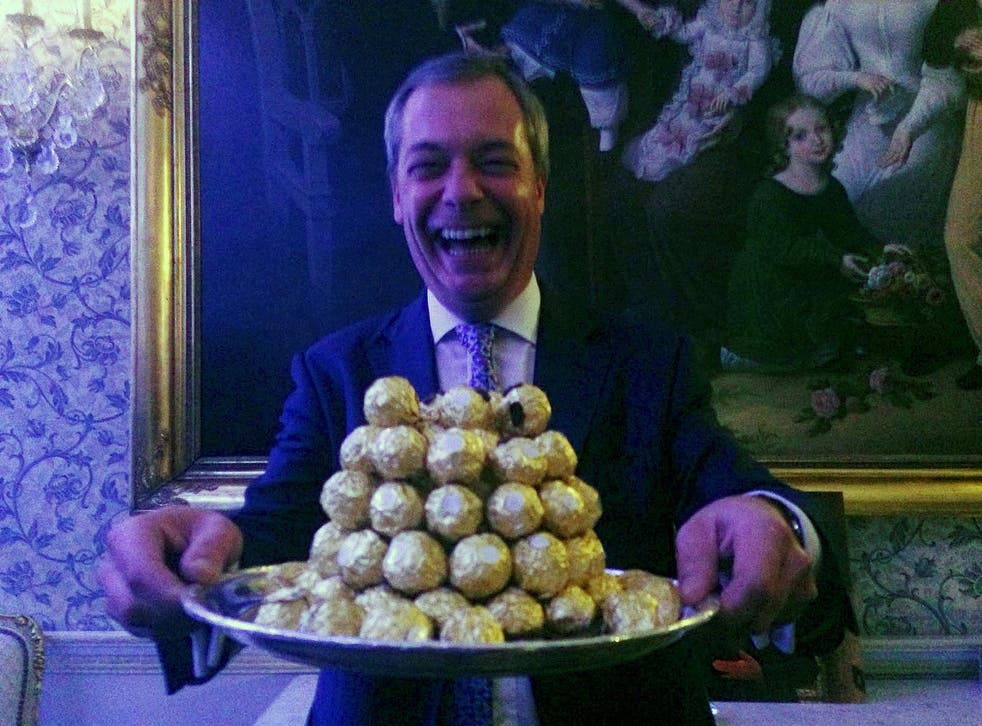 Warner Bros is reportedly interested in producing a film about the former Ukip leader