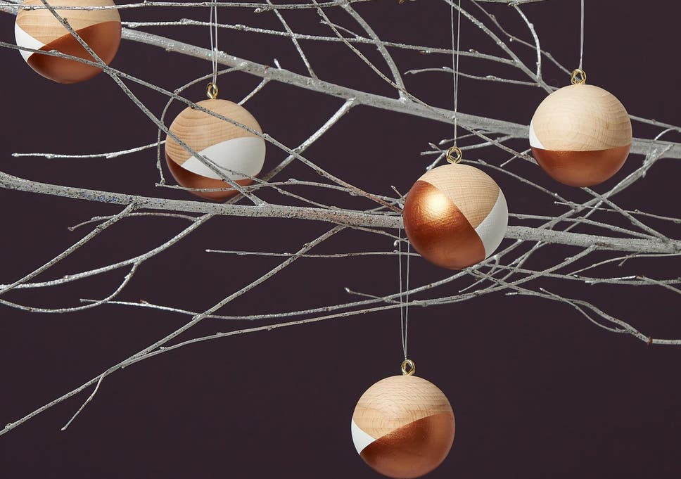 adorn your tree with a special bauble snowflake or even a sprout this year