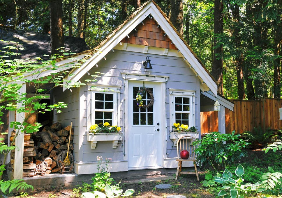 She Sheds Are The Female Equivalent Of Man Caves The Independent