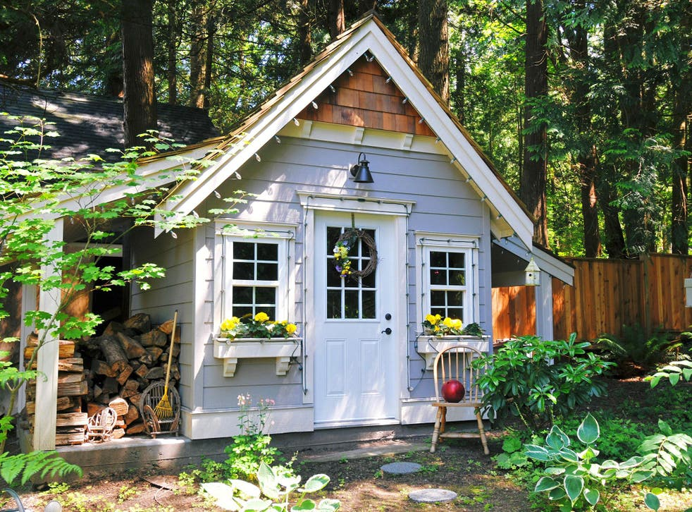She-sheds are garden retreats rising in popularity