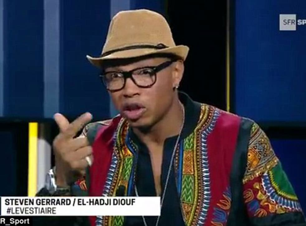 El-Hadki Diouf appeared on the show to discuss Steven Gerrard's retirement