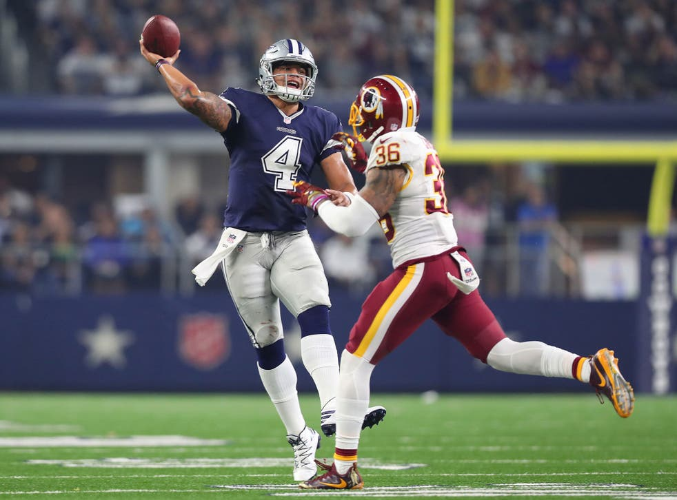 Dak Prescott continues to lead the Dallas Cowboys in the absence of fit quarterback Tony Romo