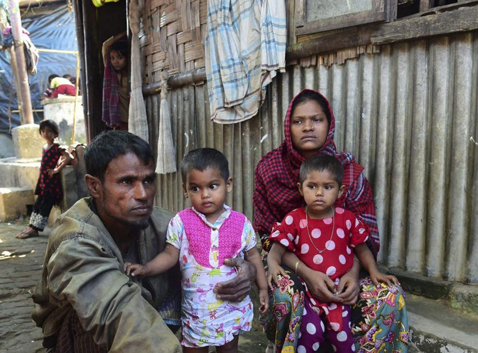 Up to 30,000 Rohingya have been displaced since fresh violence erupted in Burma in October