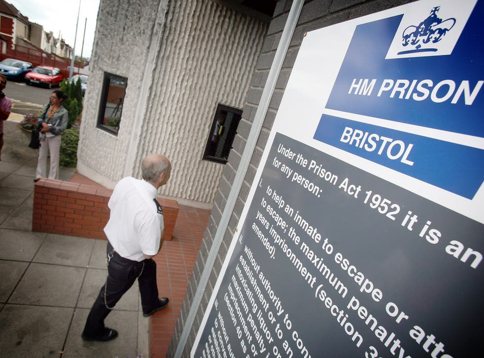 King was found dead at HMP Bristol prison in January (file photo)