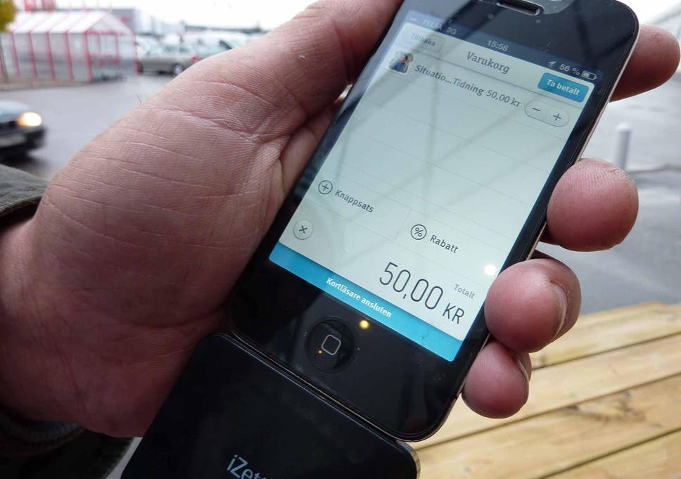 If Sweden becomes the world's first cashless society, could