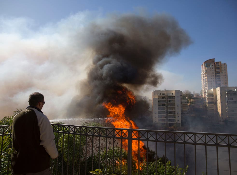 Wildfires have spread across northern Israel since Tuesday and caused thousands to evacuate the city of Haifa