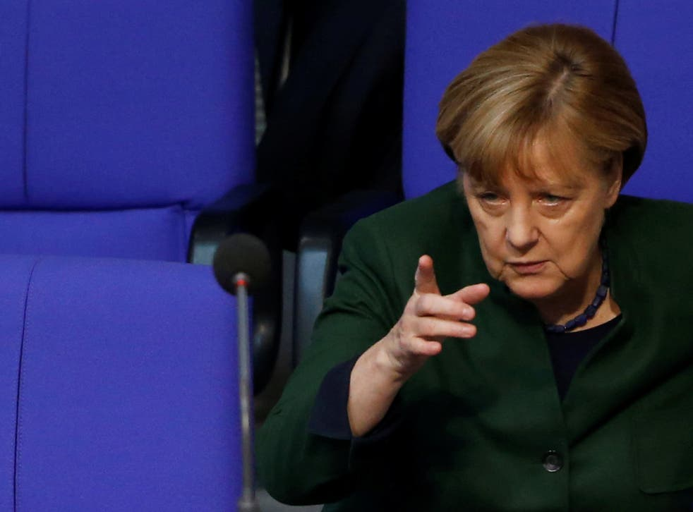 Angela Merkel has issued a warning over the boom in fake news websites ahead of the German elections