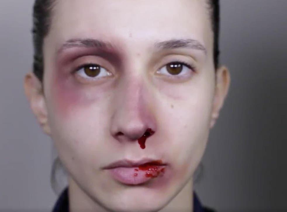 Palestinian artist Rand Jarallah's video, 'Reverse the Trend'