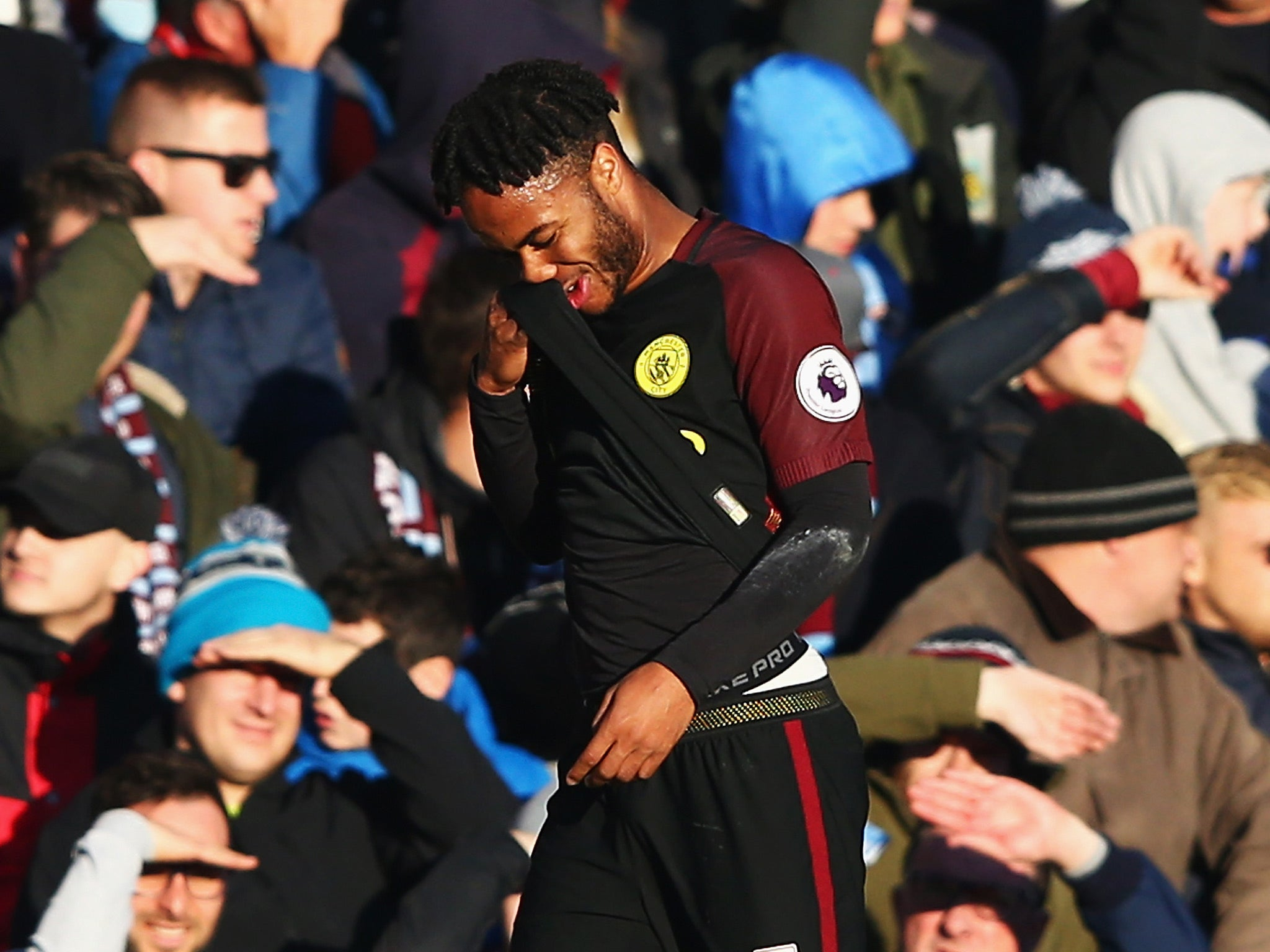 Burnley vs Manchester City: Pep Guardiola questions Turf Moor's abuse of Raheem Sterling
