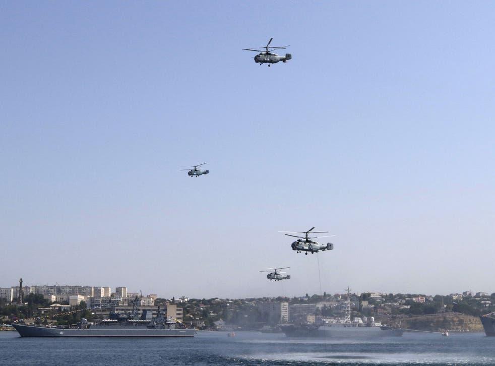 Sevastopol in Crimea is a major port for Russian authorities