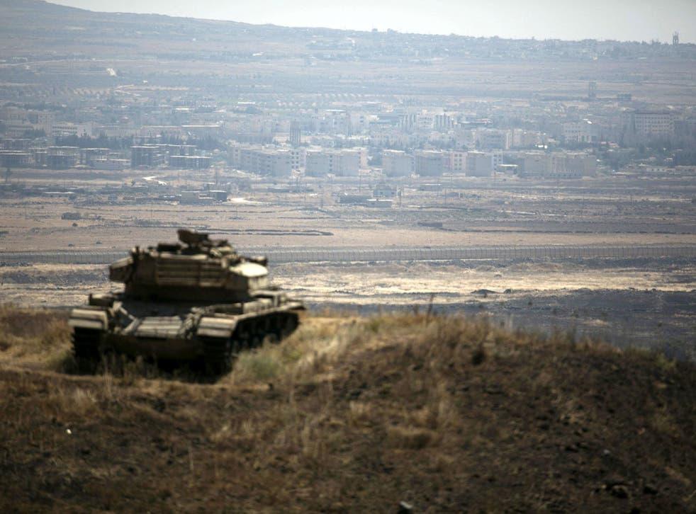 Israel seized 1,200 square kilometres