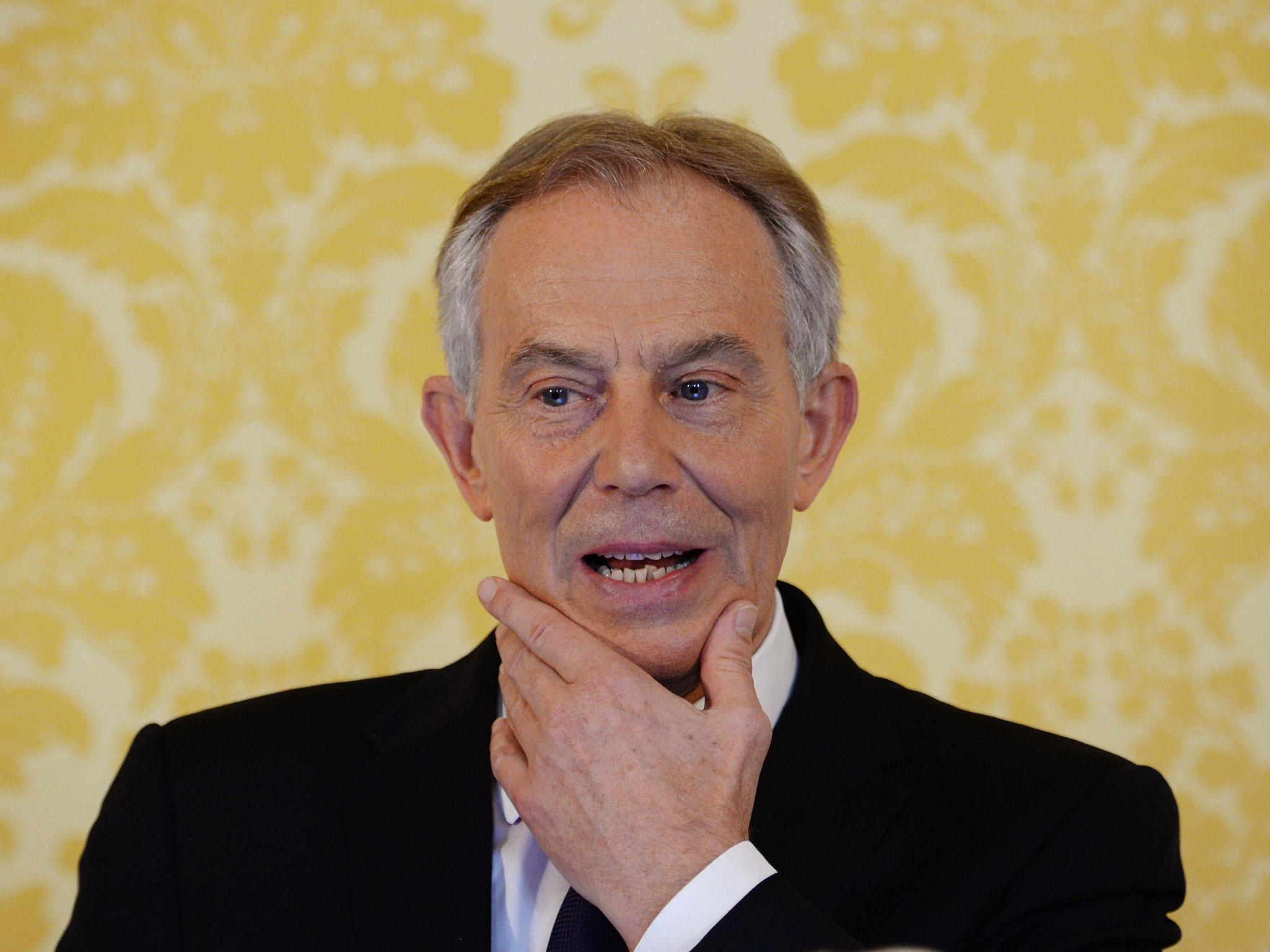 tony blair latest