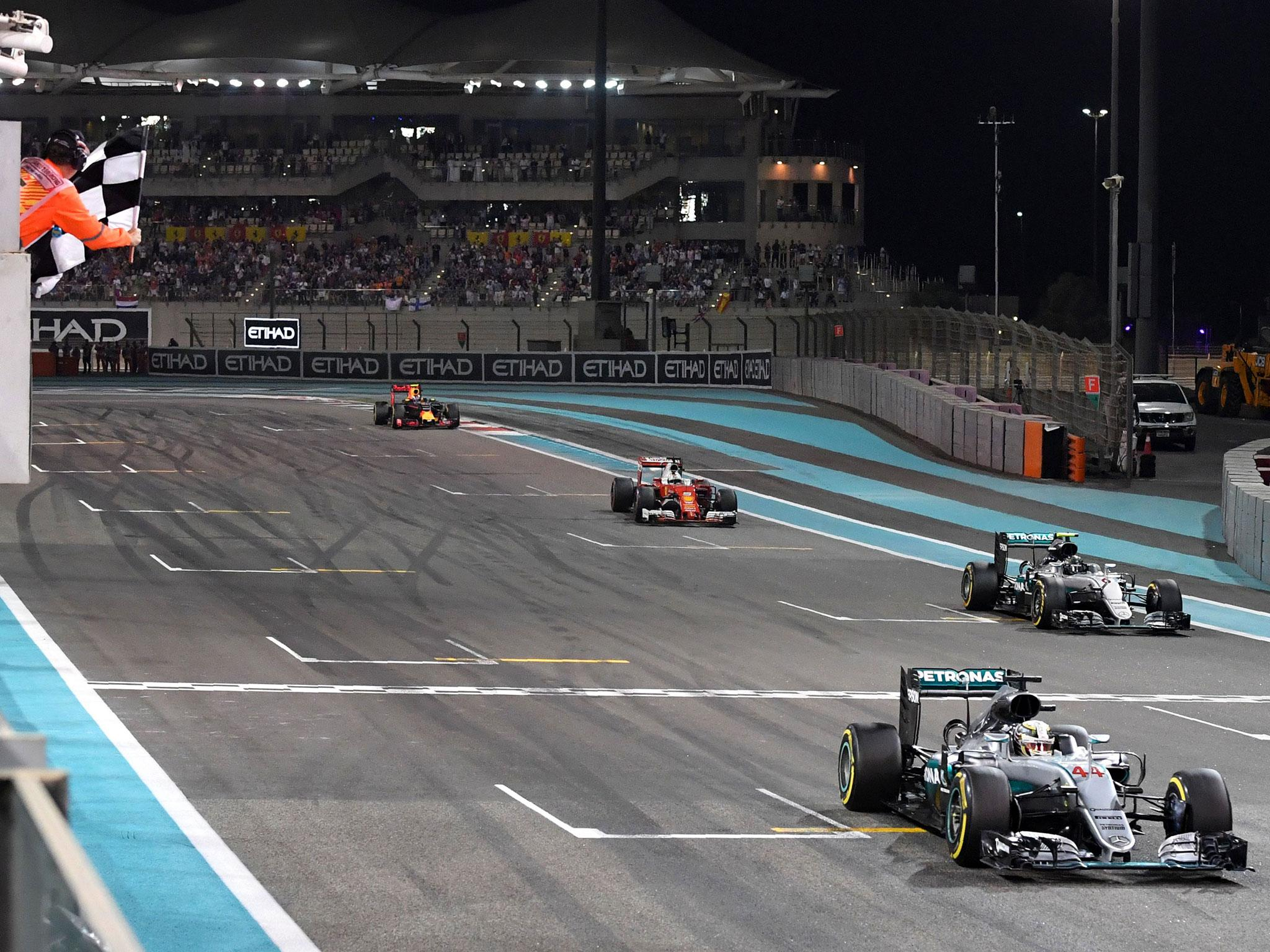abu dhabi grand prix live nico rosberg wins championship as lewis hamilton holds on to grand. Black Bedroom Furniture Sets. Home Design Ideas