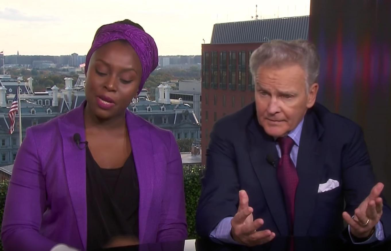Chimamanda Ngozi Adichie details how she felt ambushed in Newsnight Trump debate