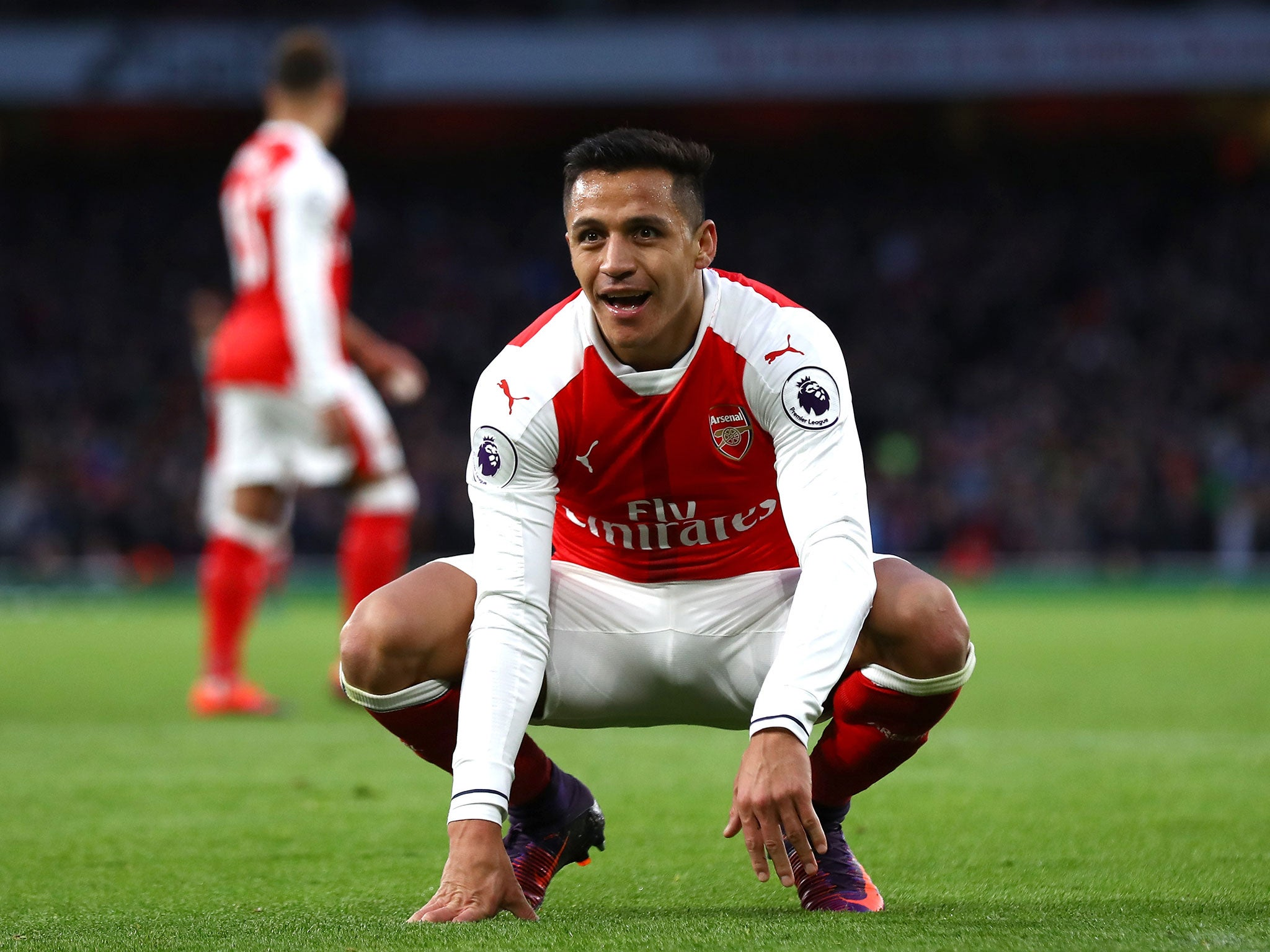 Arsenal vs Bournemouth Arsene Wenger hails Alexis Sanchez s gut