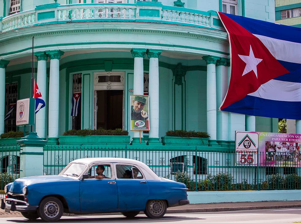 Nations such as Cuba can no longerdepend on the Soviets for support(