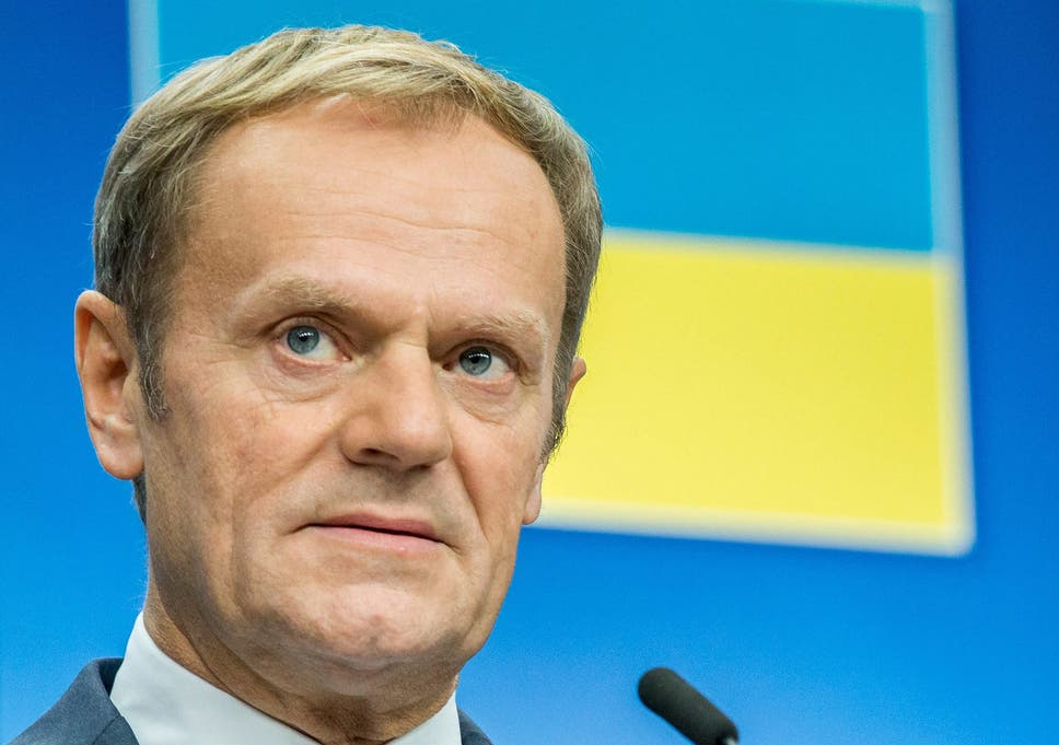 donald tusk says donald trump poses existential threat to europe