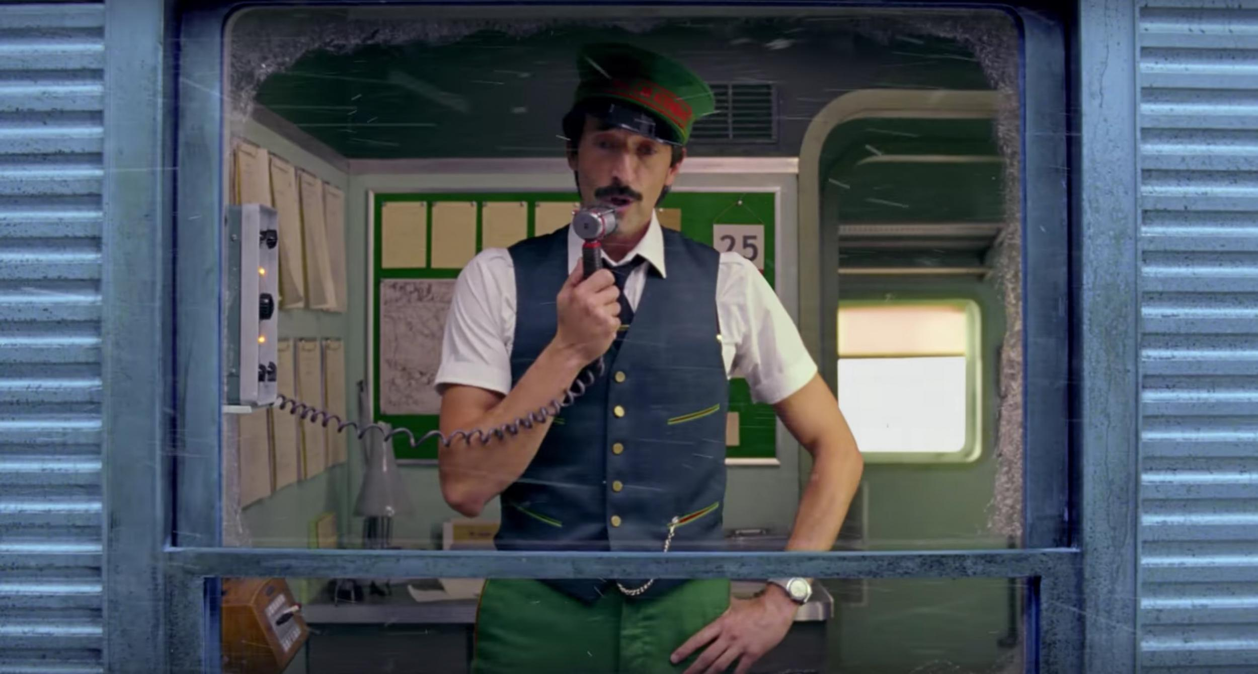 Wes Anderson directed a Christmas short film for H&M and it's like a festive Darjeeling Limited