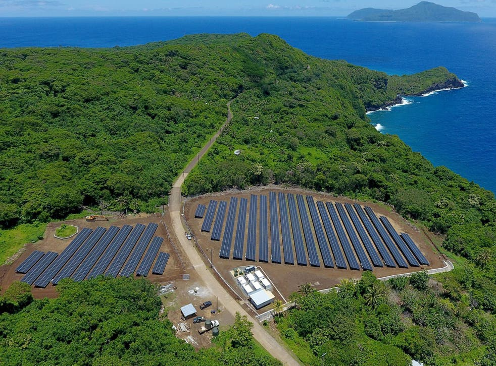 Ta'u island is now sustainable with solar power