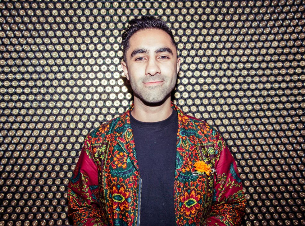 Amir Amor is a firm believer in the benefits of yoga and has created a song for a charity that helps refugees through yoga