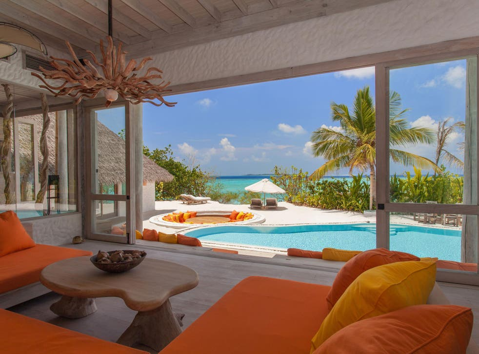 Lots in the Young and Homeless Helpline appeal auction include a five-night stay in the Maldives