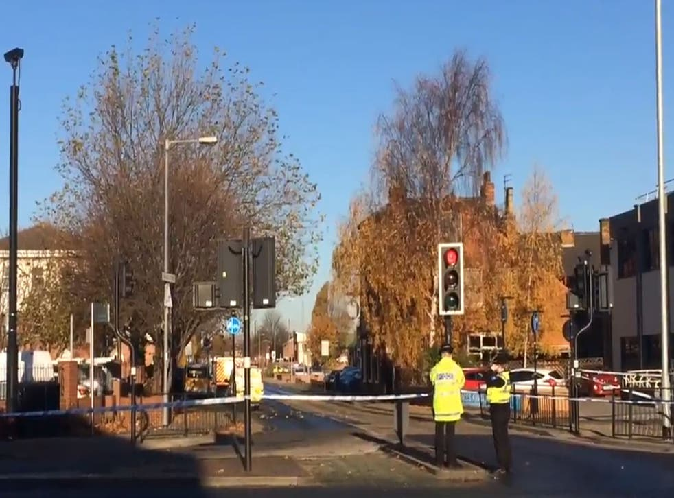 Streets in Hull have been cordoned off after police shoot a 31-year-old man