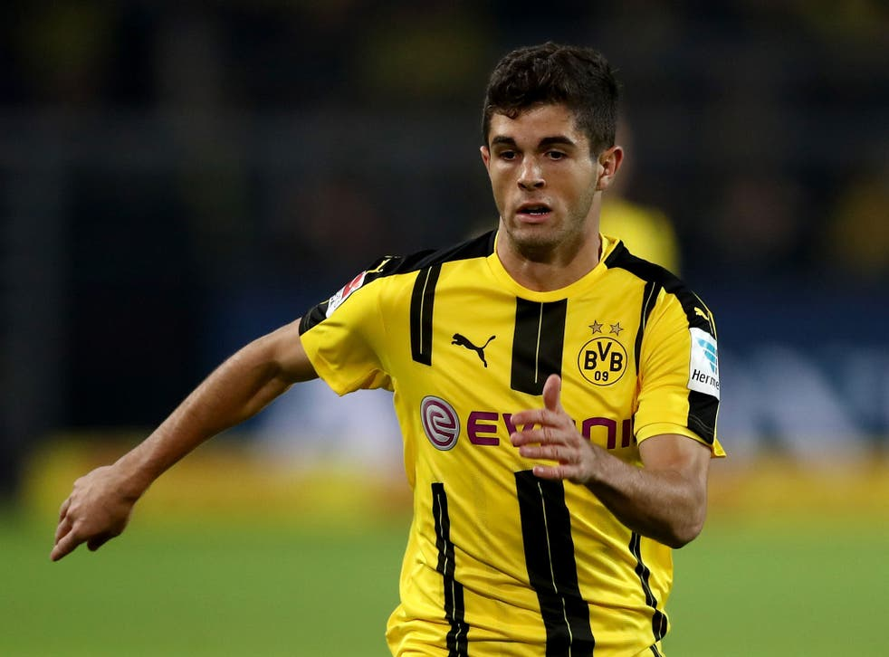 Pulisic was allegedly subject to a £11m offer from Liverpool this summer
