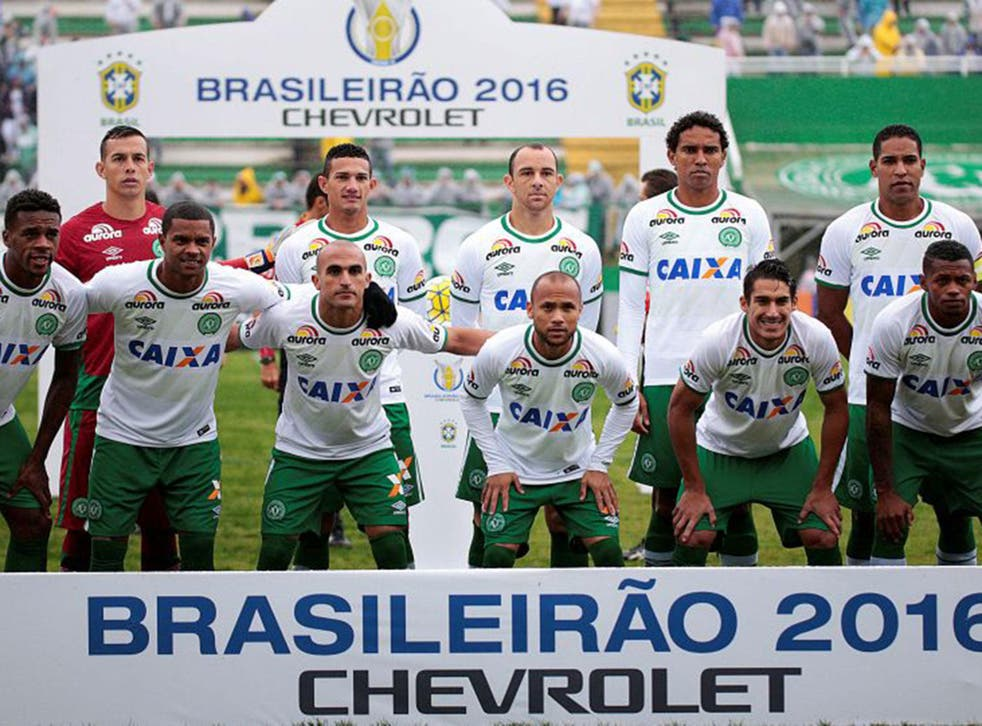 The majority of the Chapecoense team died in the Colombian plane crash on Monday night