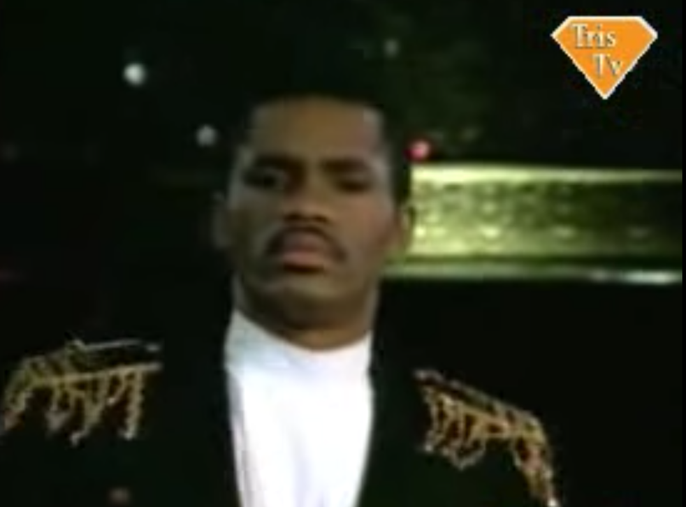 Colonel Abrams performs in the music video for 'Trapped'