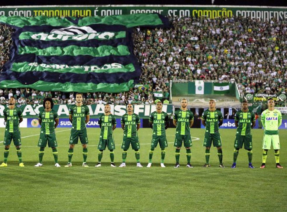 Chapecoense were due to play in the Copa Sudamericana final first leg the day after their tragic plane crash