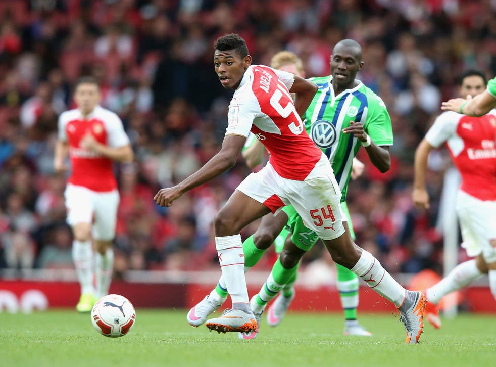 Jeff Reine-Adelaide is one of the prospects among Arsenal's younger players