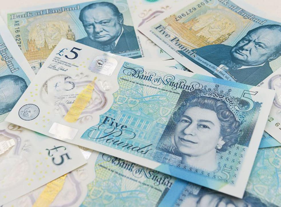 More than 120,000 people have supported an online petition urging the Bank of England to cease using animal fat in the production of five pound notes