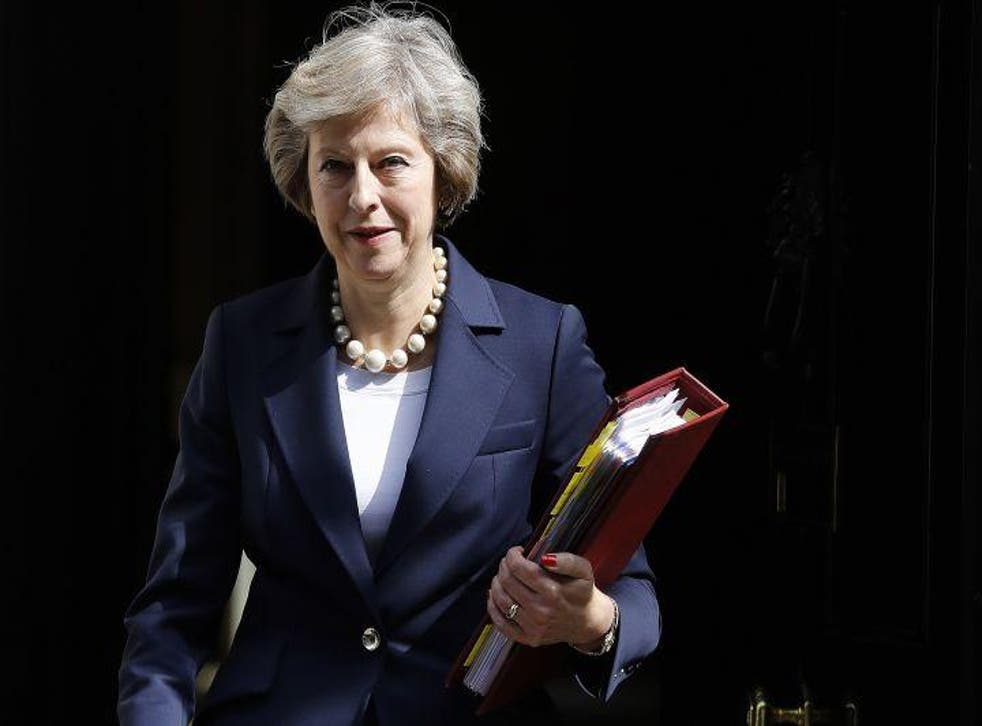 Ms May has said she intends to bring net migration levels down to the tens of thousands