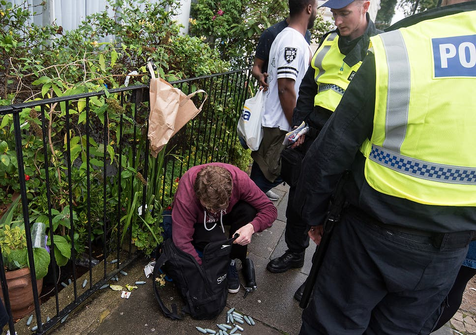 Police vow to continue arrests for laughing gas despite