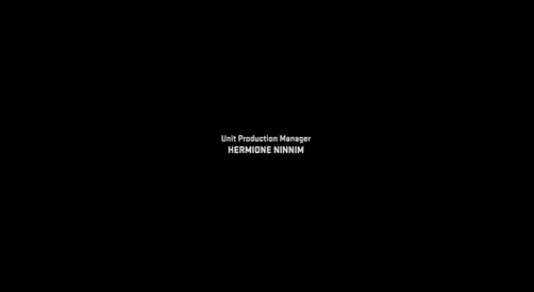 why is the unit production manager often first in film credits