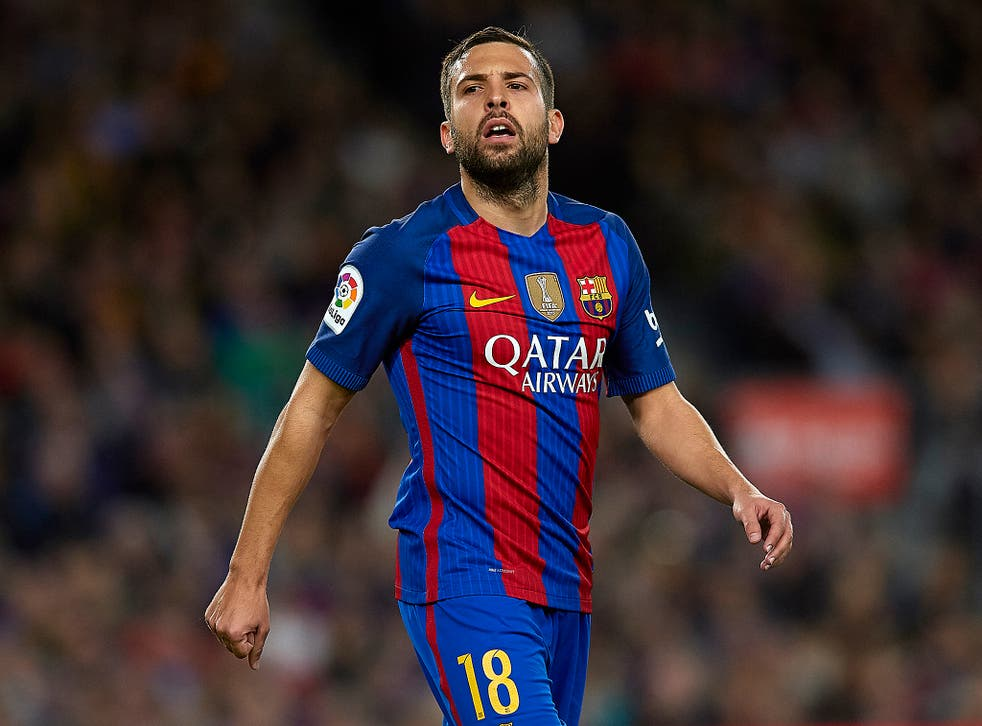 Jordi Alba is available at the right price, according to reports in Spain