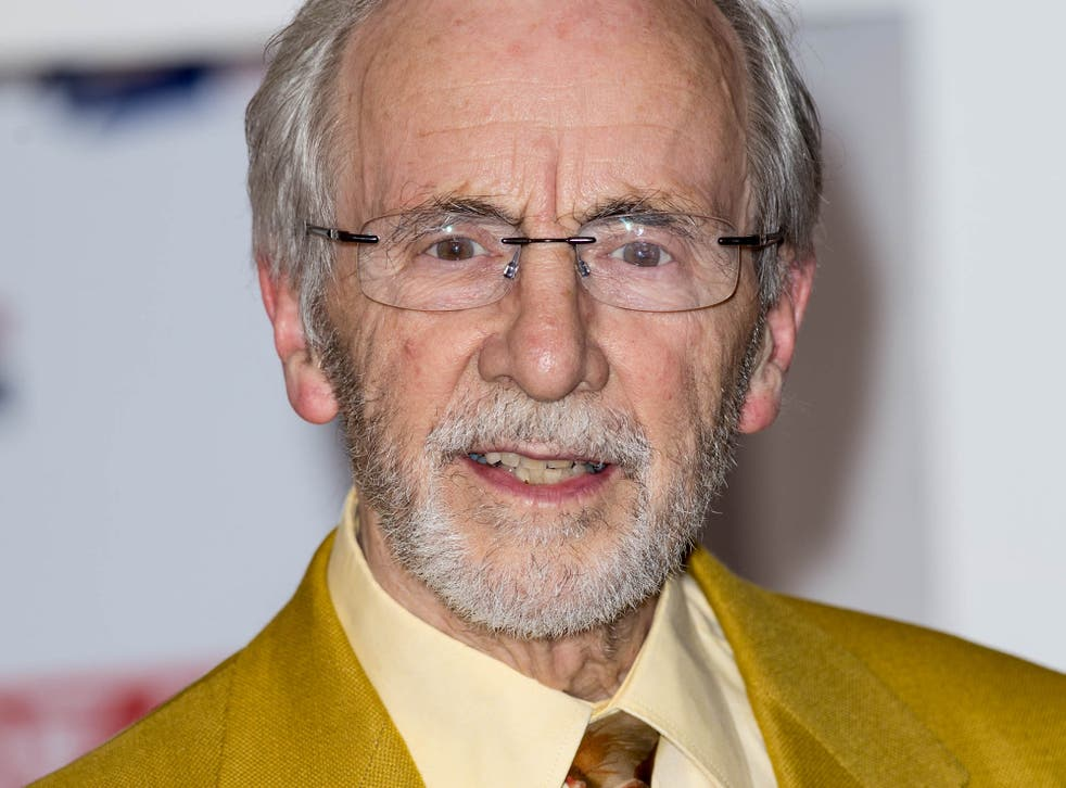 Andrew Sachs at an event in London in 2012