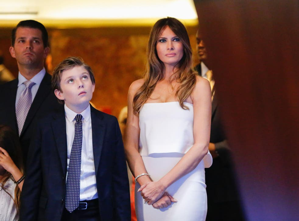 Melania Trump  is to leave her Trump Tower penthouse in New York and move to Washington, joined by the couple's son Barron, at the end of the school year, according to a senior aide