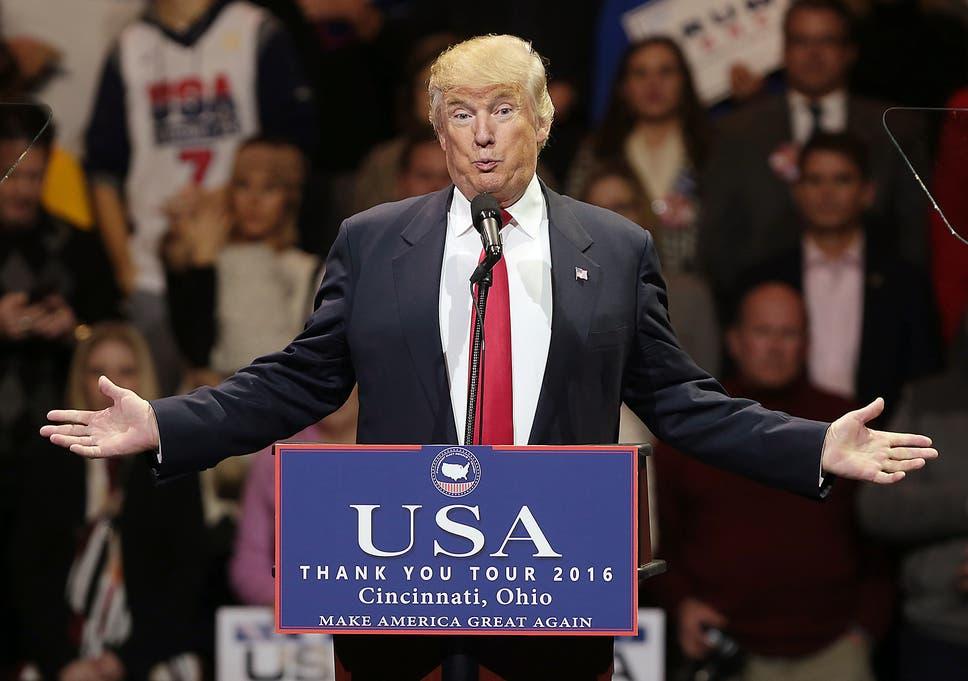 Donald Trump Ohio Speech Transcript Of President Elect S Rambling