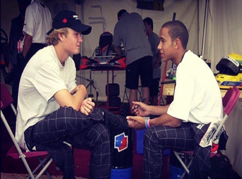 Leiws Hamilton paid tribute to Nico Rosberg on Thursday on Twitter