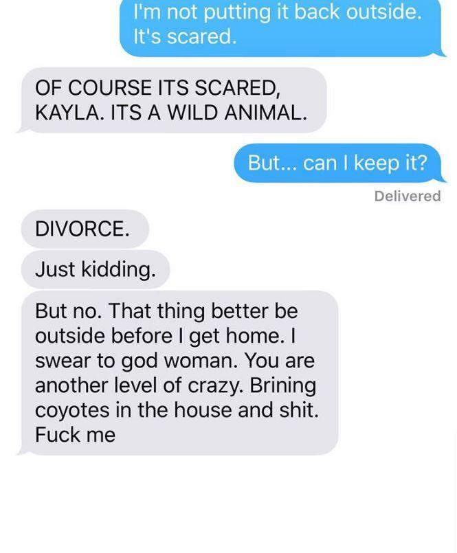 Woman makes husband lose it after convincing him she's