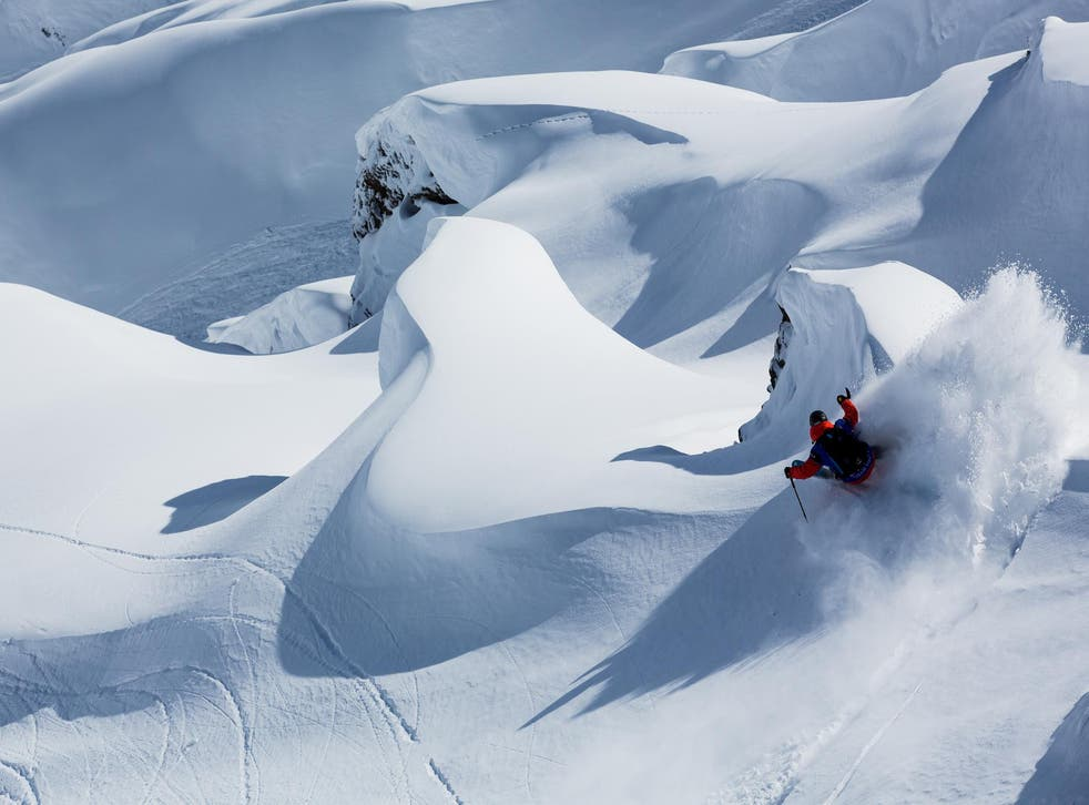 A heli-skiing trip gives thrill-seekers access to untouched powder