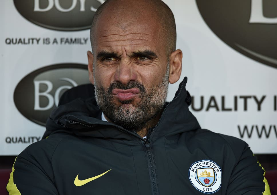 Image result for Guardiola rejects Chelsea as best side in Europe