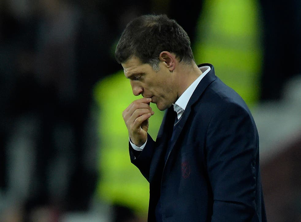 Bilic saw his side put in a dismal display in the defeat to Arsenal