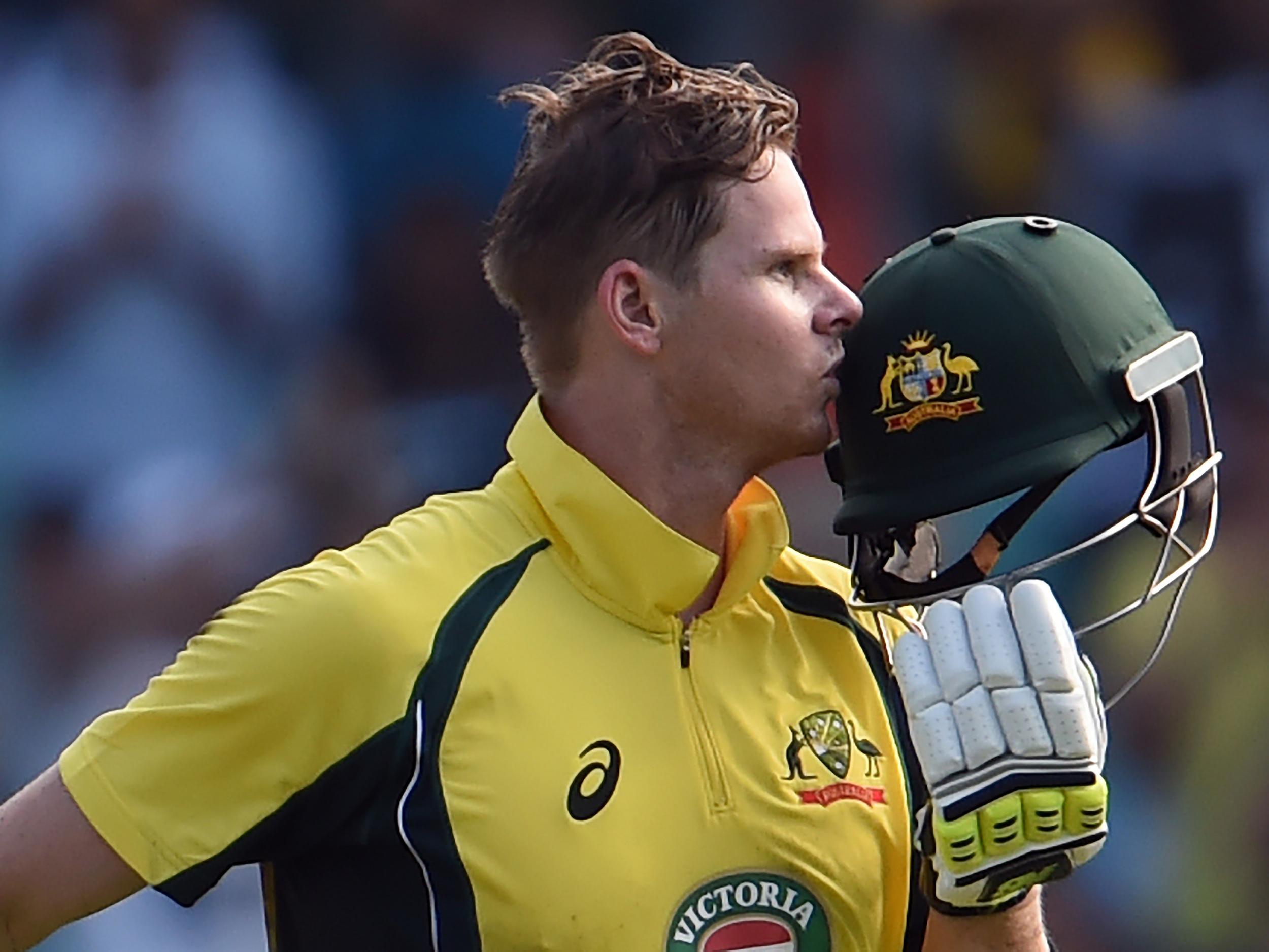 Australia vs New Zealand Steve Smith smashes 164 to down Black