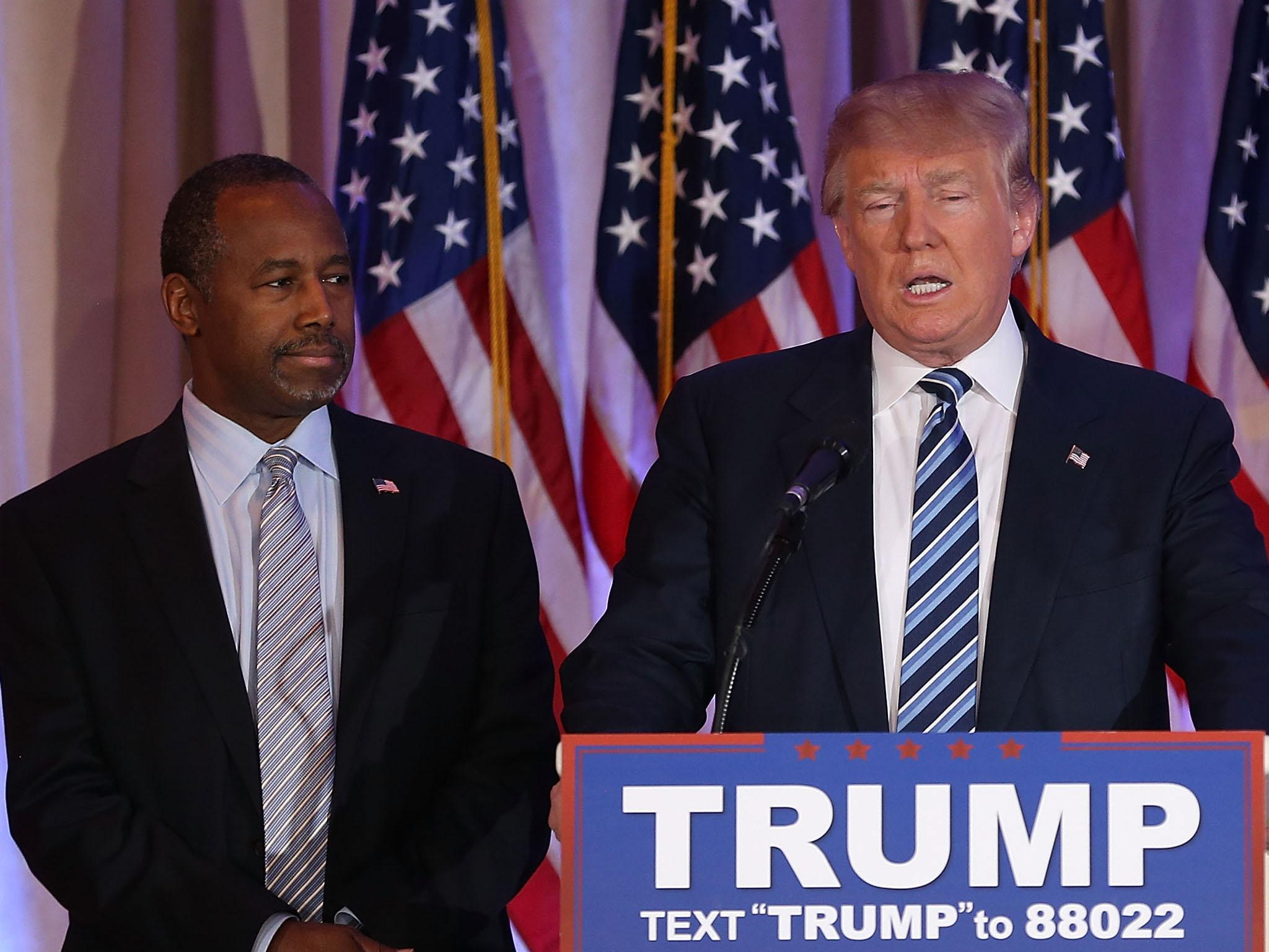 Donald Trump appoints Ben Carson to his cabinet despite comparing ...